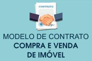 Modelo Contrato Compra e Venda de Imóvel